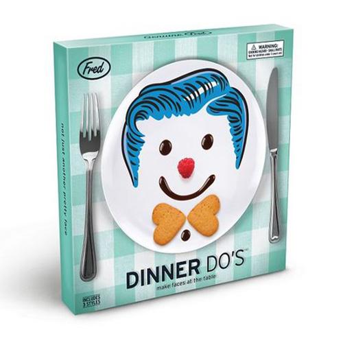 Fred Dinner Do's (3 Plate Set)