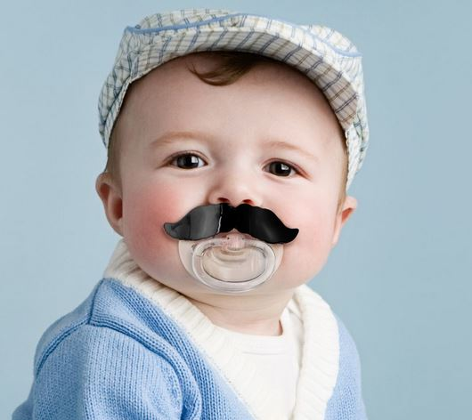 Chill Baby Mustache Soother