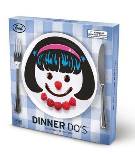 Fred Dinner Do's Girls (3 Plate Set)