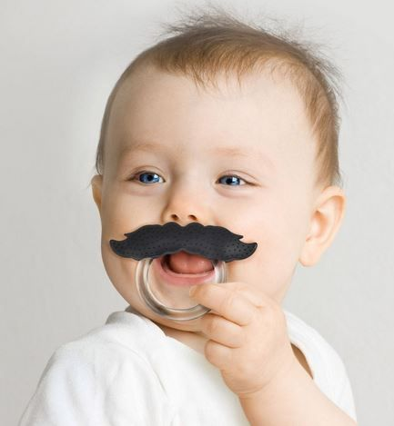 Chill Baby Mustache Teether