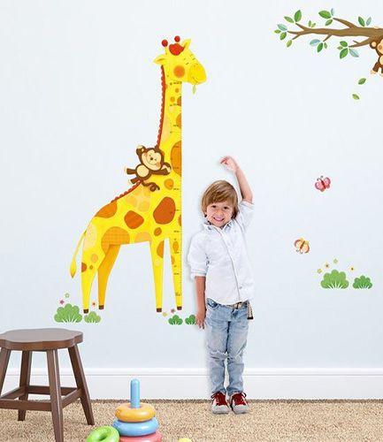 Giraffe Height Chart