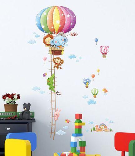 Hot Air Balloon Height Chart