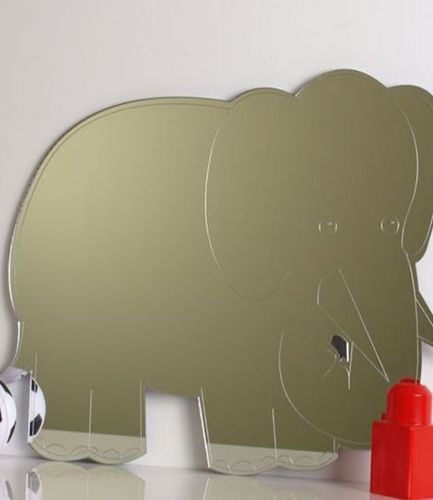 Jungle Elephant Mirror 45cm