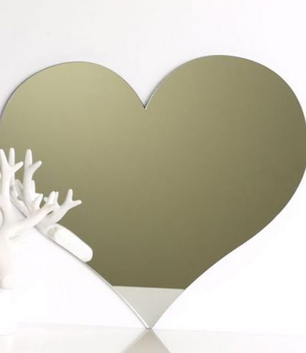 Love Heart Mirror 45cm