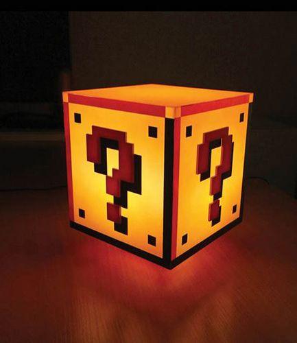 Mario Bros Question Block Light