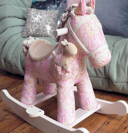 Pixie and Fluff Rocking Horse