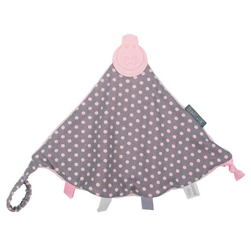 Polka Dot Pink Comfortchew