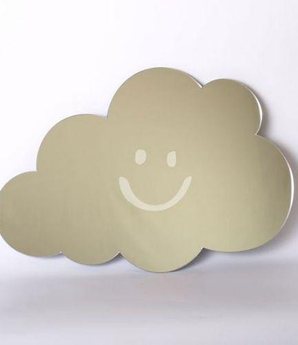 Smiley Cloud Mirror 45cm