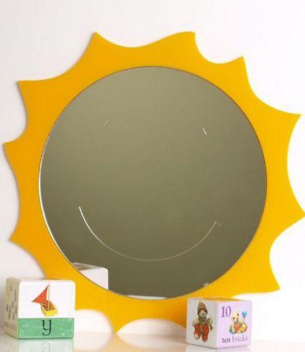 Smiley Sun Mirror 45cm