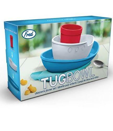 Tug Bowl Children's Dinner Set