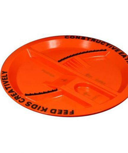 Constructive Eating Plate