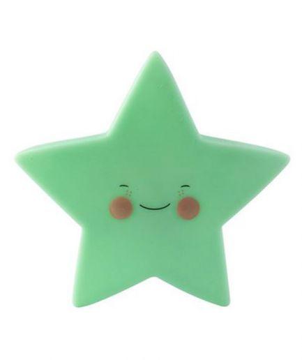 Mini Star Green Night Light
