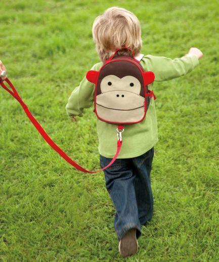 Safety Harness Mini Backpack Monkey