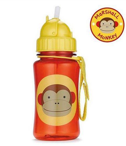 Skip Hop Straw Bottle Monkey