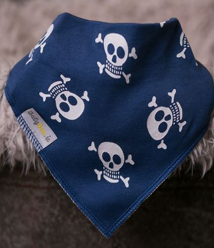 Babyboo Bib Skull and Crossbone
