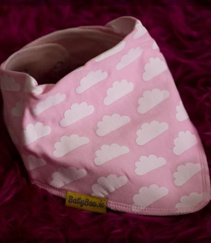 Babyboo Bib Up in the Pink Clouds