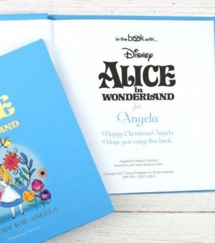 Alice in Wonderland Personalised Book