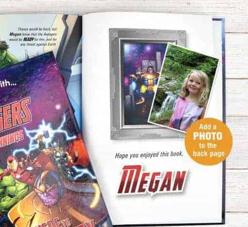 Avengers Beginnings Personalised Book