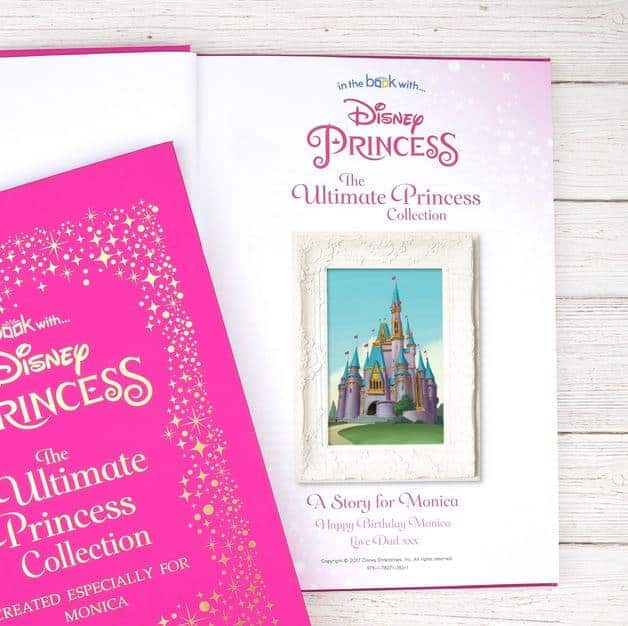 Disney Princess Ultimate Collection Personalised Book