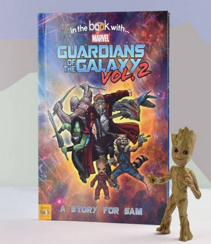 Guardians of the Galaxy Personalised Book