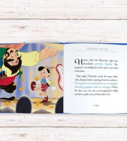 Pinocchio Personalised Book
