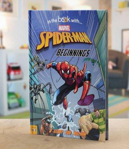 Spiderman Beginnings Personalised Book