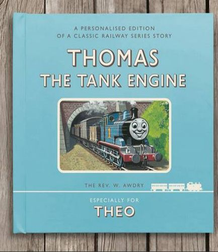 Thomas the Tank Engine Personalised Book