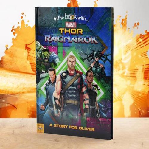Thor Ragnarok Personalised Book