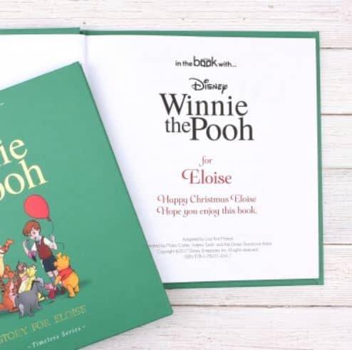 Winnie the Pooh Personalised Book