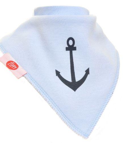 Zippy Baby Boy Bandana Dribble Bib 4 pack Nautical