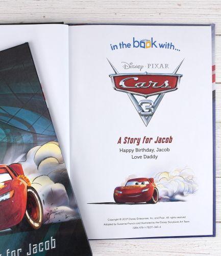 Cars 3 Personalised Book