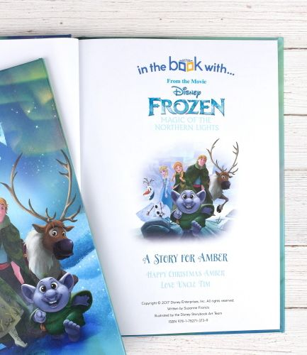 Disney Frozen Northern Lights Personalised Book