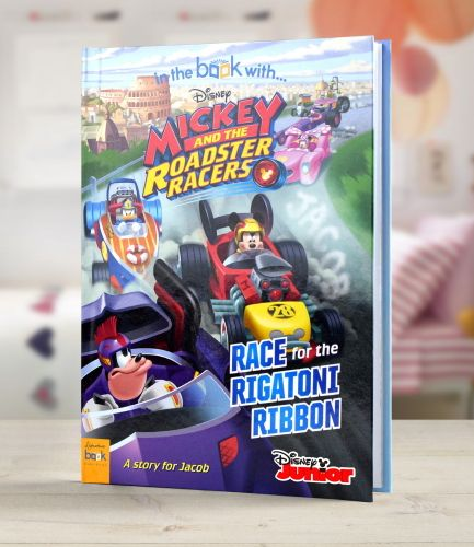 Disney Mickey And The Roadster Racers Personalised Book