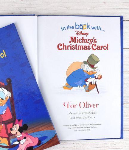 Disney Mickey's Christmas Carol Personalised Book