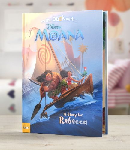 Disney Moana Personalised Book