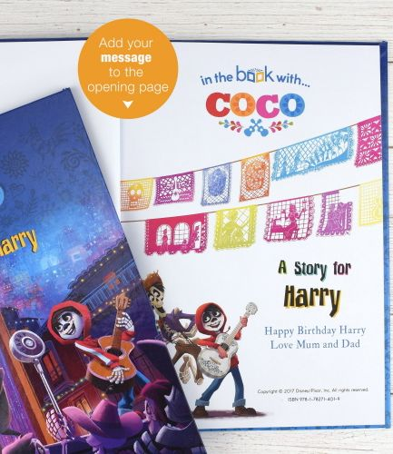Coco Personalised Book