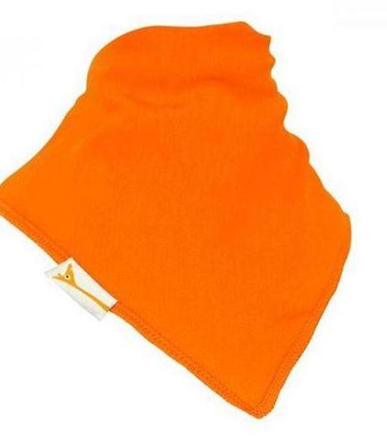 Orange Plain Bandana Bib