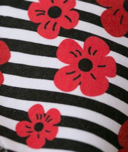 Babyboo Monochrome Poppies