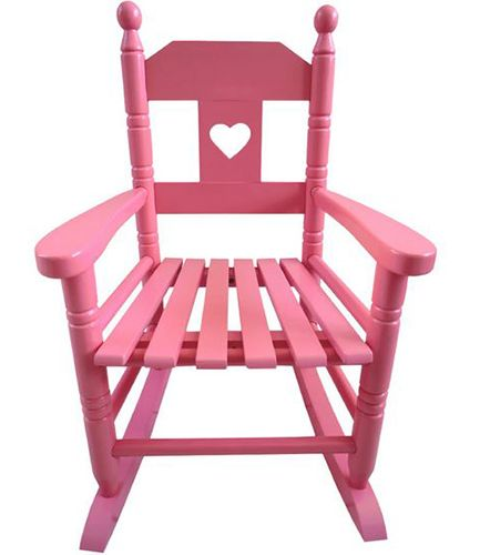 Childs Pink Rocking Chair