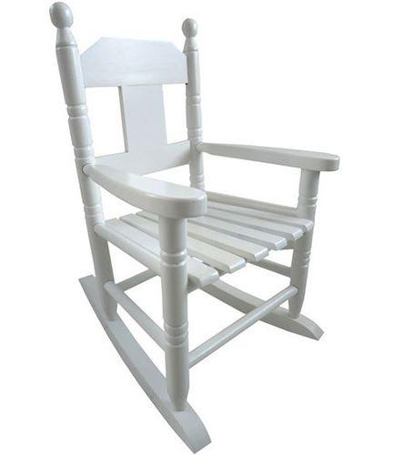 Childs White Rocking Chair