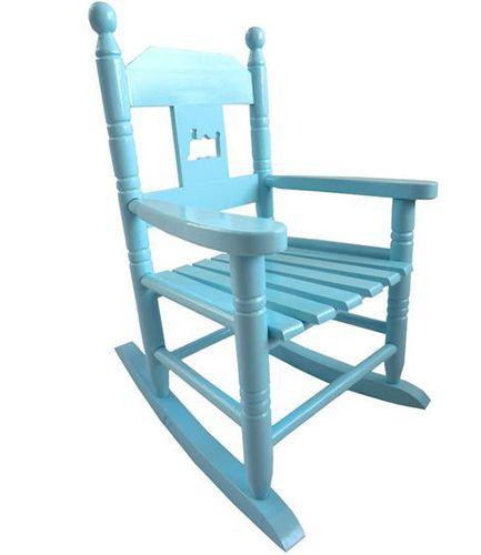 Childs Blue Rocking Chair