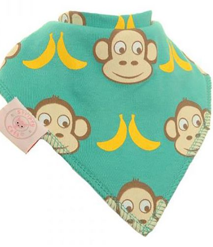 Monkey Bandana Bib