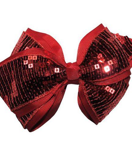 Cheer Bow Red - Medium