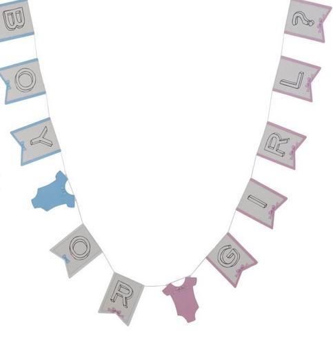 Boy or Girl Bunting - Little Lady or Mini Mister