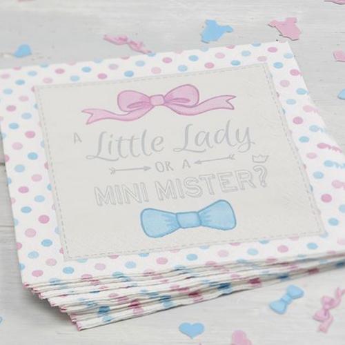 Paper Napkins - Little Lady or Mini Mister