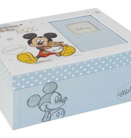 Disney Magical Beginnings Keepsake Photo Box - Mickey