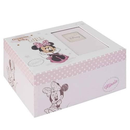 Disney Magical Beginnings Keepsake Photo Box - Minnie