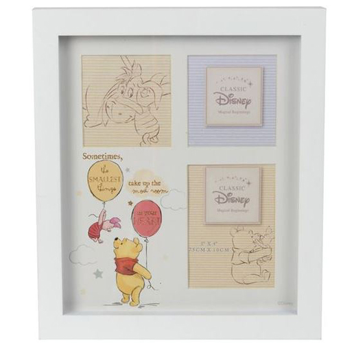 Disney Magical Beginnings Collage Frame Pooh Heart
