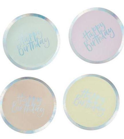 Pastel Paper Plates - Pastel Party