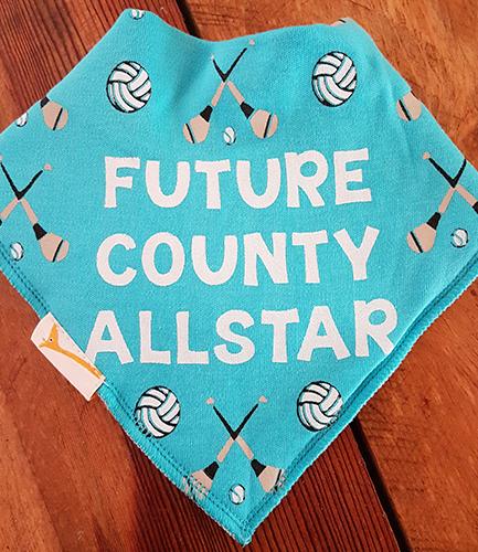 GAA Future County Allstar Blue Bandana Bib
